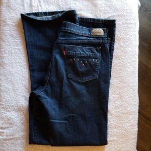 Levi's 515 Jeans Boot Cut  EUC